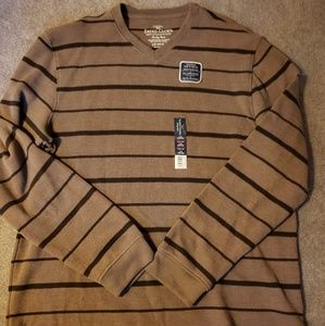 Mens faded glory long sleeve shirt size l
